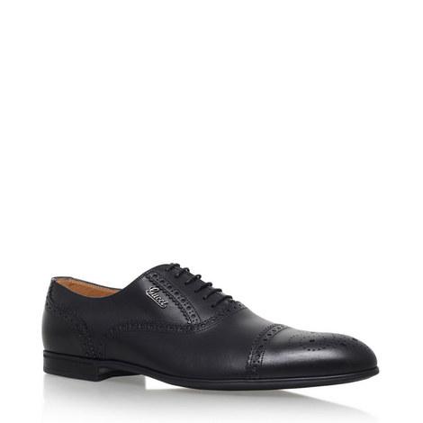 Chiaia Toecap Oxford Shoes, ${color}