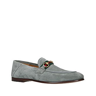 Web Brixton Suede Loafers