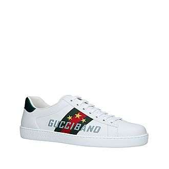 New Ace Gucci Band Trainers
