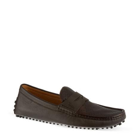 Diamond Apron Driver Shoes, ${color}