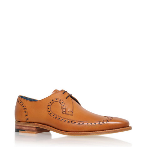 Woody Wingcap Derby Shoes, ${color}