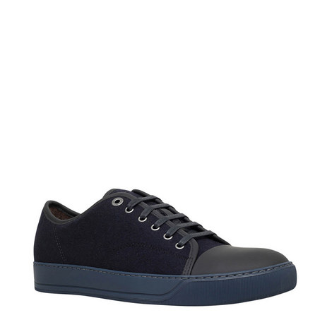 Wool Toe Cap Trainers, ${color}