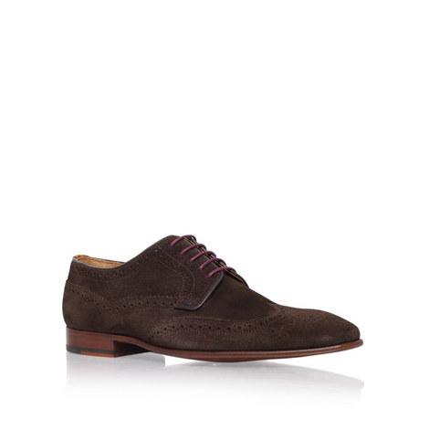 Aldrich Suede Derby Shoes, ${color}