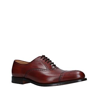 Toronto Punched Toe Cap Oxfords