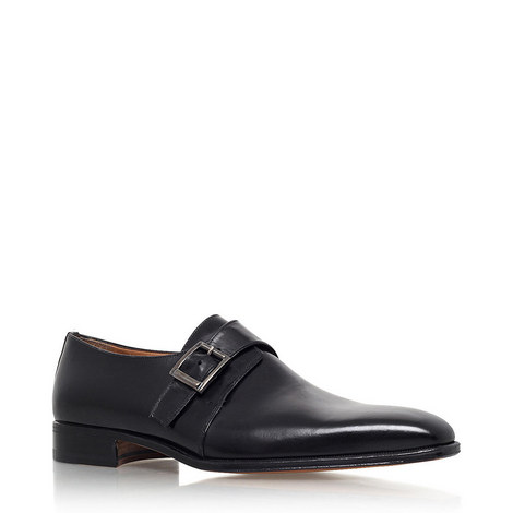 Cremona Single Monk Strap Shoes, ${color}