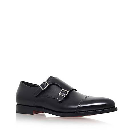Wilson Leather Monk Shoes, ${color}
