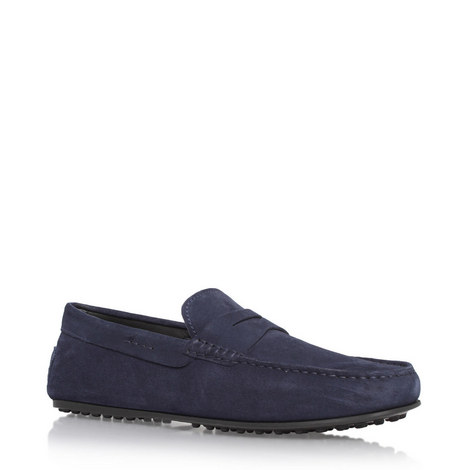 Gommino Penny Bar Loafers, ${color}
