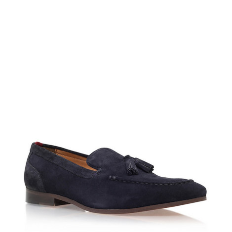 Coleman Suede Leather Loafers, ${color}