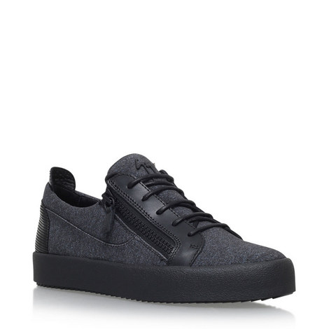 Leather Low Top Trainers, ${color}