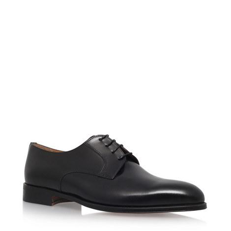 Plain Derby Shoes, ${color}