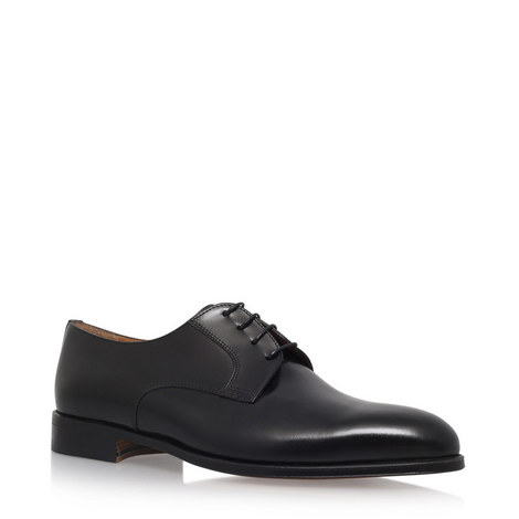 Plain Derby Shoes, ${color}