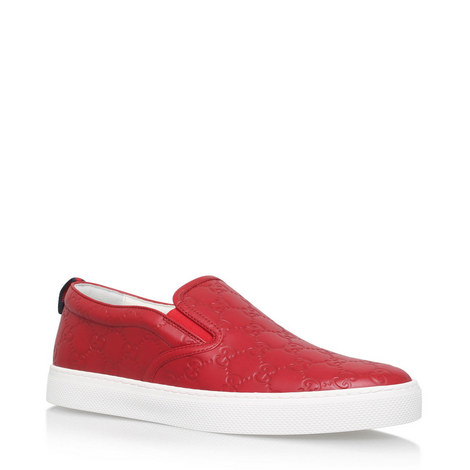 Signature GG Slip Ons, ${color}