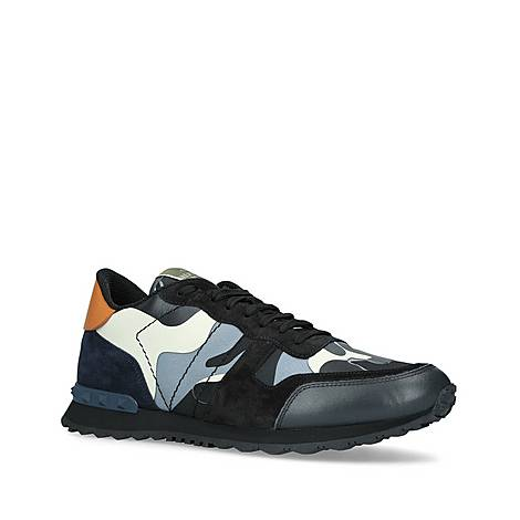 Camo Rockstud Trainers, ${color}