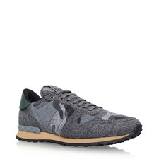 Felted Camouflage Trainers