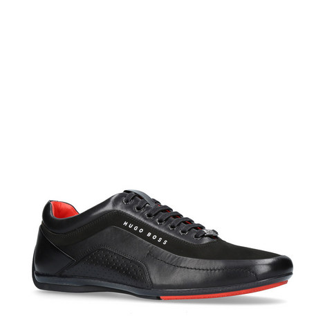 Leather Racing Trainers, ${color}