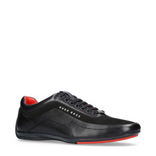 Leather Racing Trainers