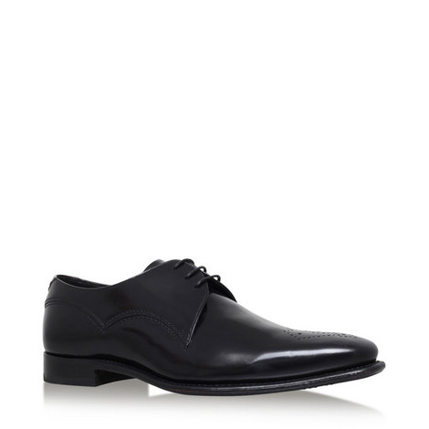 Barnaby Punch-Toe Derby Shoes, ${color}