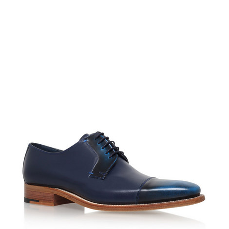 Powell Two Tone Derby Shoes, ${color}