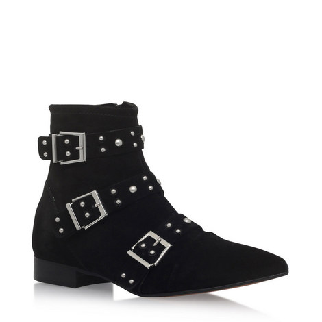 Snorkle Studded Ankle Boot, ${color}