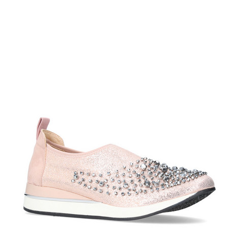 Ophelia Embellished Trainers, ${color}