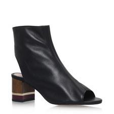 Rylene Peep Toe Boots