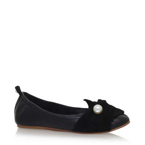 Kimmy Faux Pearl Ballet Flats, ${color}