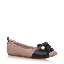 Kimmy Faux Pearl Ballet Flats