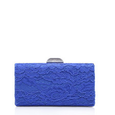 Gage Lace Box Clutch