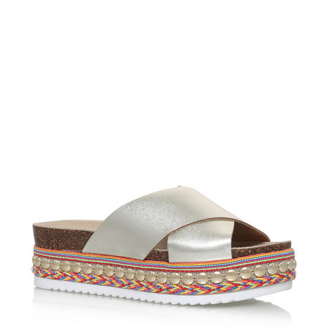 Kake Embellished Sandals, ${color}