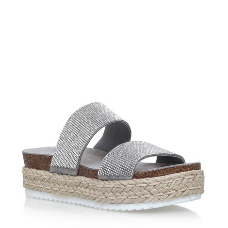 Karry Diamanté Sandals, ${color}