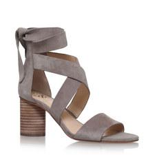 Jeneve Ankle Tie Sandals