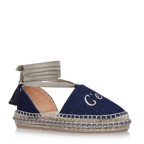 Pierre Lace-Up Espadrilles, ${color}