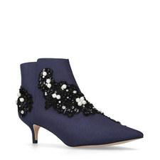 Rokka Kitten Heel Boots