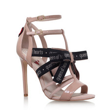 Queen of Hearts Heeled Sandals