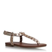Kave Studded T-Bar Sandals