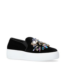 Lorraine Bejewelled Trainers