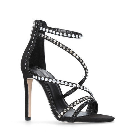 993095197b4285 Grass Studded Strappy Sandals