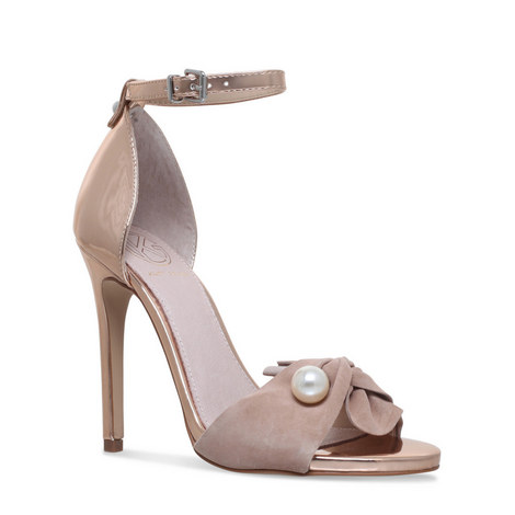 Hermione Bow Pearl Sandals, ${color}