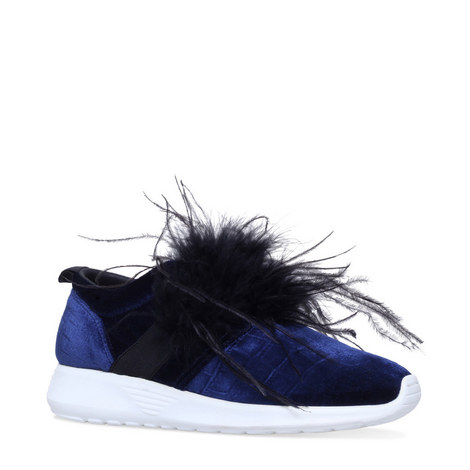 Lucille Feathered Trainers, ${color}