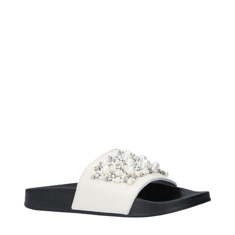 Kirsty Embellished Slides, ${color}