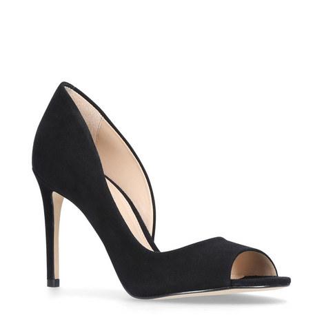 Glaze Peep Toe Heels, ${color}