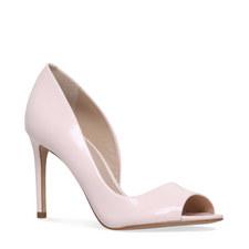 Glaze Peep Toe Heels