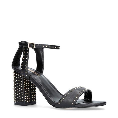 Gogo Stud Block Heels, ${color}