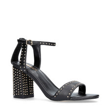 Gogo Stud Block Heels