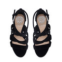 Catyna Velvet Platform Sandals, ${color}
