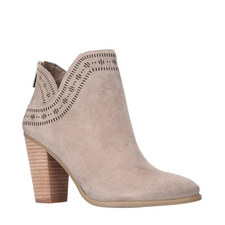 Fanita Stacked Heel Boots