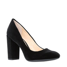 Janetta Block Heel Courts