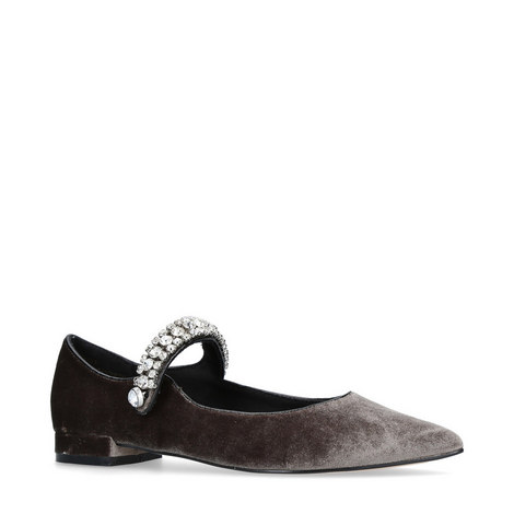 Kingly Velvet Flats, ${color}