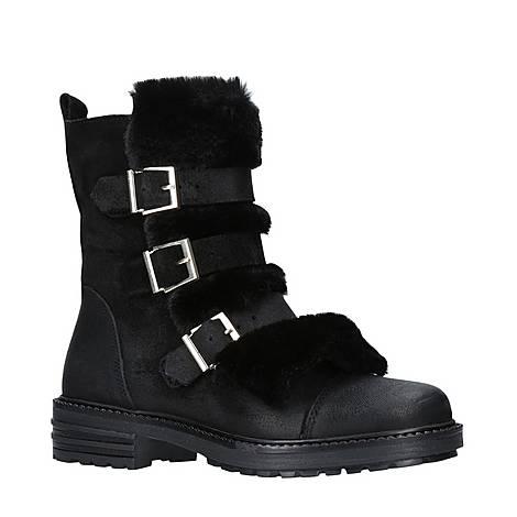 Sink Faux Fur Boots, ${color}