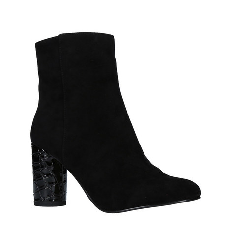 Smiling Facet Heeled Boots, ${color}